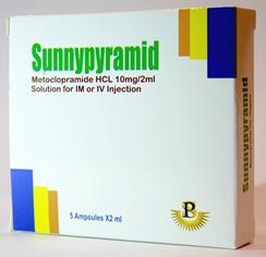 Sunny pyramid